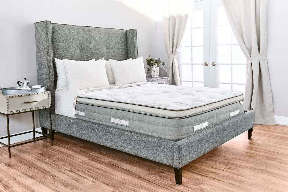 Sequoia Latex Eurotop Mattress Brentwood Home