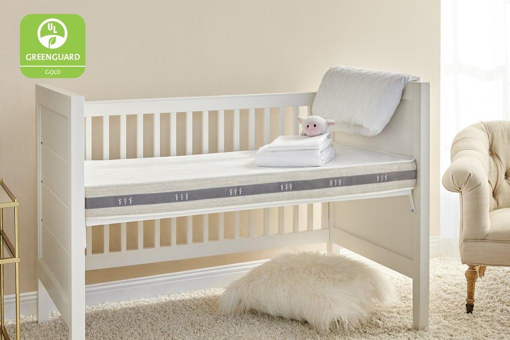 Wildfern 2-Stage Natural Crib Mattress