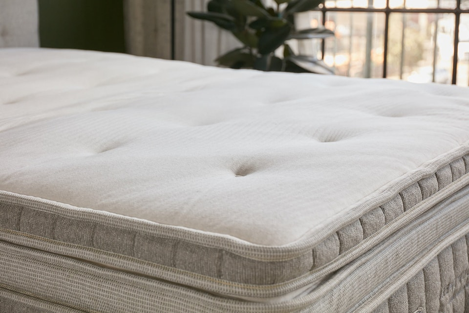 Natural Latex Mattress Topper Organic Cotton Mattress Topper