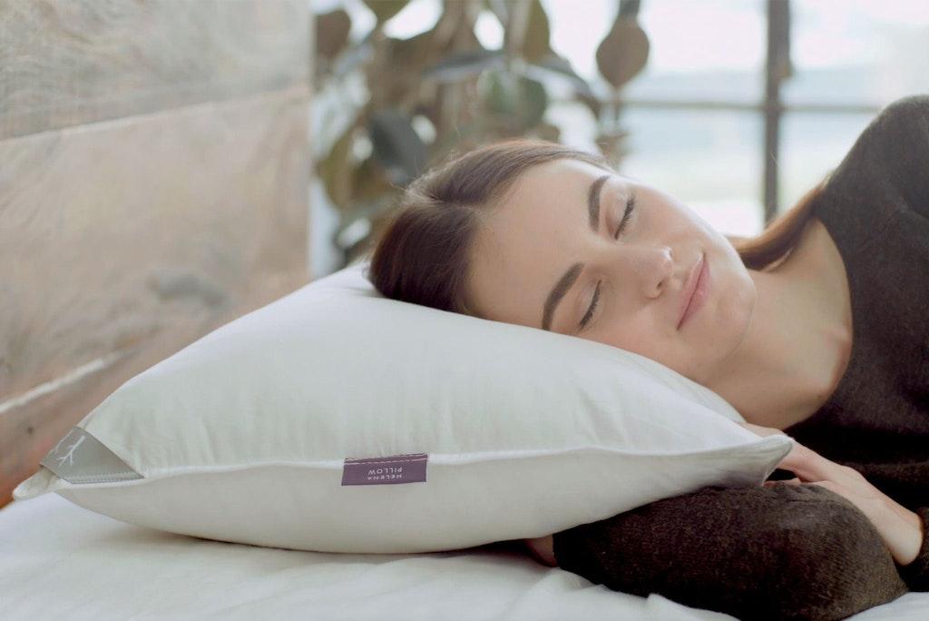 Helena Kapok & Latex Filled Pillow View 1
